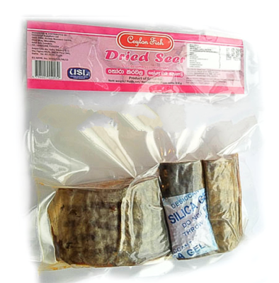 Ceylon Fish Dried Seer Fish / තෝරා කරවල, 200g
