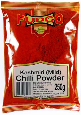 Fudco Kashmiri Mild Chilli Powder, 250g