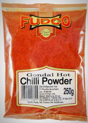 Fudco Hot Chilli Powder, 250g