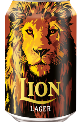 Lion Lager Beer, 330ml