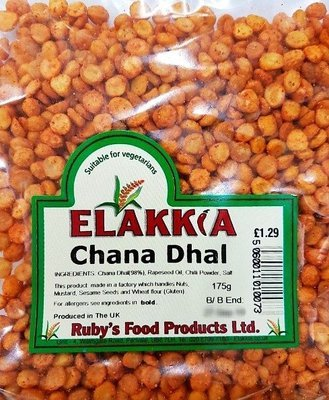 Elakkia Roasted Spicy Chana Dhal, 175g