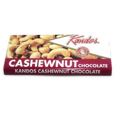 Kandos Cashew Nut Chocolate / කැන්ඩෝස්, 100g
