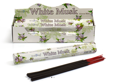 Stamford White Musk Incense Sticks