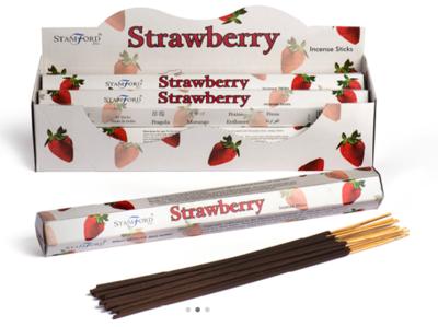 Stamford Strawberry Incense Sticks