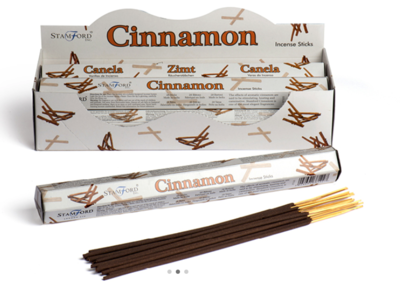 Stamford Cinnamon Incense Sticks