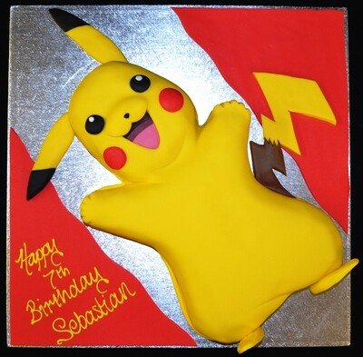 Pikachu (Full Body Cake)