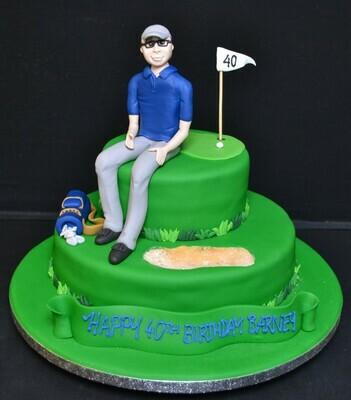 Golfer Duo