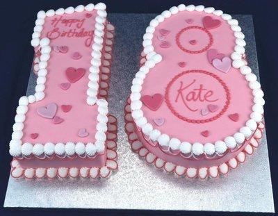 Figure Cakes. 12