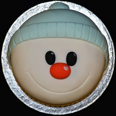 Christmas Snowman Novelty Cake