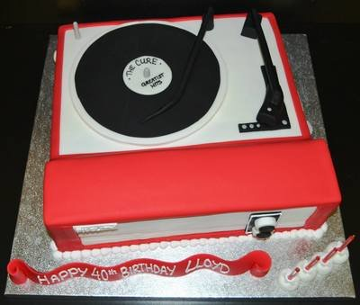 Record Player- Dansette