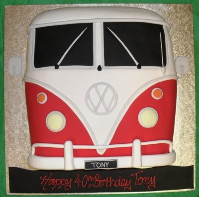 VW Camper Van front