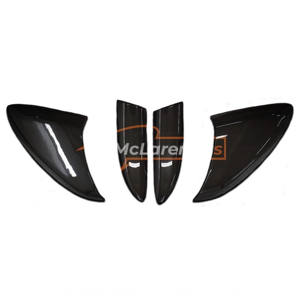Long-tail side intakes panels (set of 4)