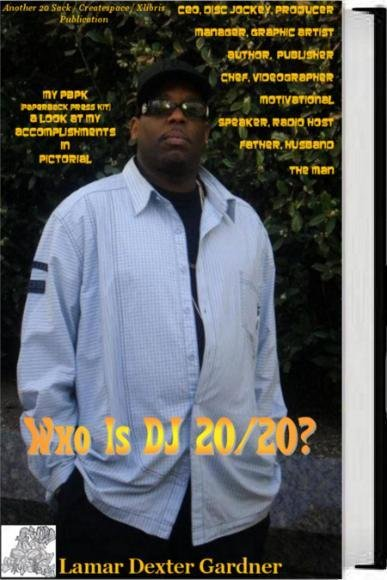 Who Is DJ 20/20 (Pictorial Book)