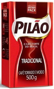 Pilao Brazilian Coffee medium roast 17.60 ounce