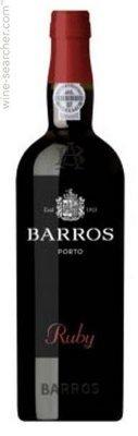 Barros Ruby Port 750 mL, 19.5 % ABV by Barros