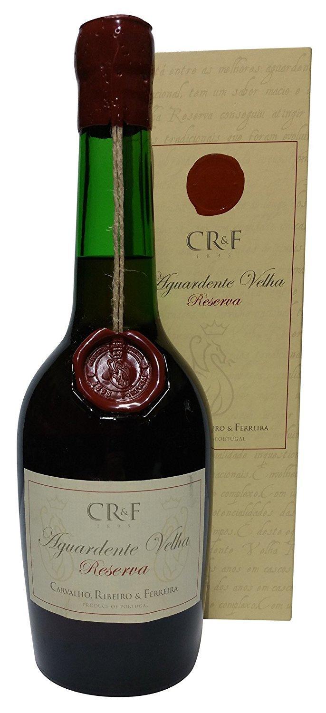 CRF Aguardente Velha Old Brandy 80 Proof, 750 mL