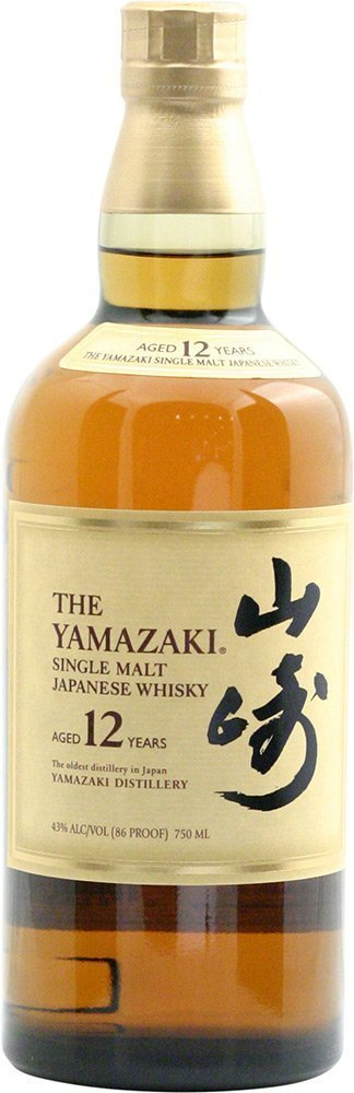 Suntory Yamazaki 12 Year Single Malt 46 proof, 750 mL