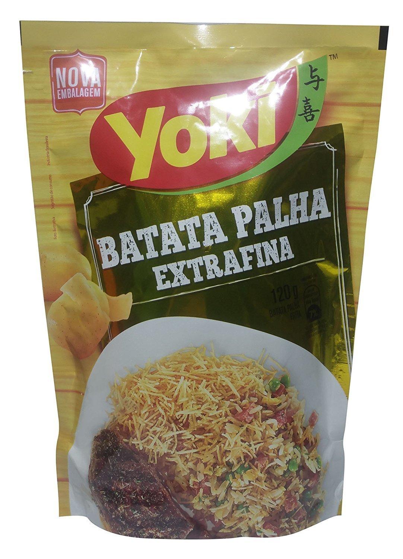 Yoki, Shoestring Fine Cut Poatato Chips, 4.23 Ounce