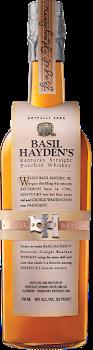 Basil Haydens Bourbon Whiskey  80 proof 750ml
