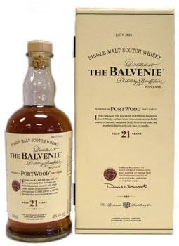 Balvenie 21 Year old Portwood Single Malt Scotch 86 proof 750ml