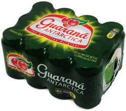 Guarana Antarctica Brazilian soda 355ml can
