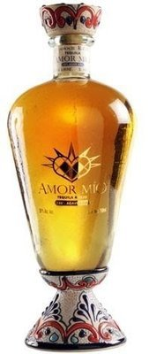 Amor Mio, Tequila Anejo Handcraft bottle, 750 mL, 80 proof