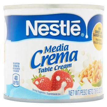 Nestle Media Crema Table Cream - 7.6oz