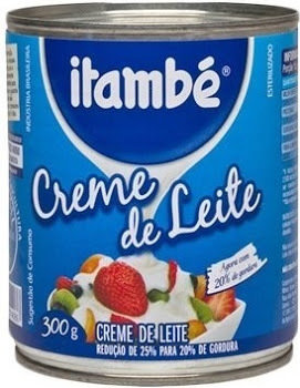 Itambé creme de leite/Traditional Table Cream - 10.5oz