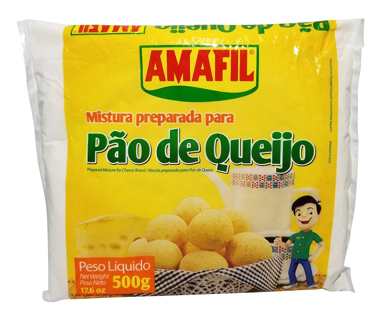 Amafil, Cheesebread Mix, 17.63 Ounce