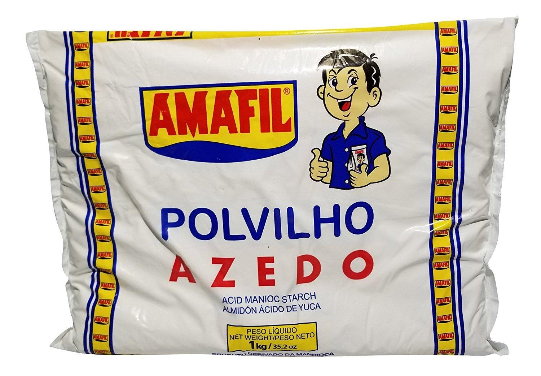 Amafil Povilho Azedo 1kg- 35.2 Ounce