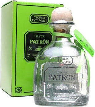 Patron Silver Tequila - 750ml 80 proof