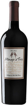Menage a Trois Red Blend Wine - California