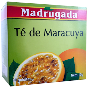Madrugada Cha de Maracuja Passion Fruit Tea - 10ct