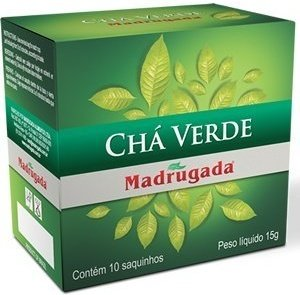 Madrugada Green Tea - 10 Bags