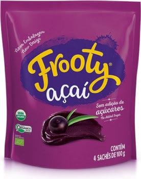Frooty Açaí Orgânico - Multipack 4x100g