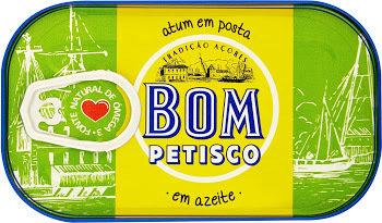 Bom Petisco Tuna in Olive Oil