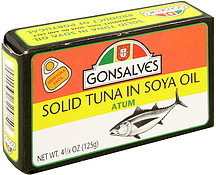 Gonsalve's Solid Tuna In Soya Oil - 125g