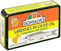 Gonsalves Sardines In Olive Oil - 4.38oz