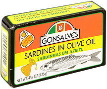 Gonsalves Sardines In Olive Oil - 4.38oz