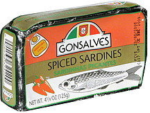 Gonsalves Spiced Sardines - 125g