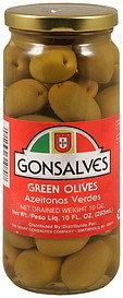 Gonsalves Green Olives - 10oz