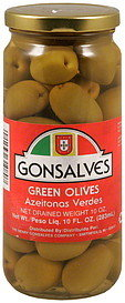 Gonsalves Green Olives - 10oz