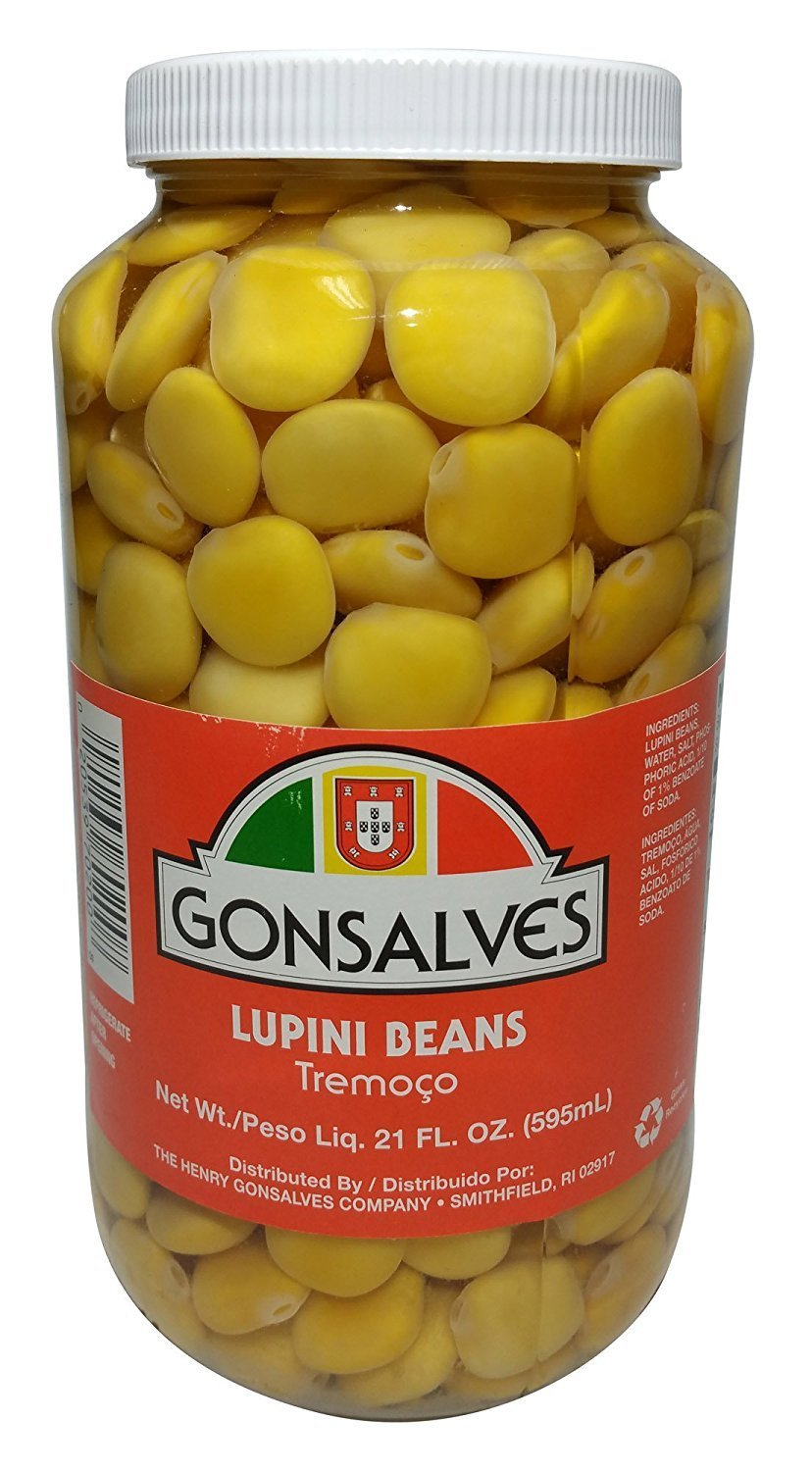 Gonsalves, Tromocos, Lupini Beans Ready To Eat, 21 Ounce