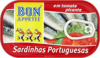 Bon Appetit Sardine In Hot Tomato Sauce - 120g