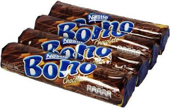 Nestle Bono Chocolate Biscuits - 140g, 4Pack