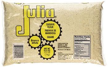 Julia Farinha de Mandioca/ Cassava Flour - 35.2oz