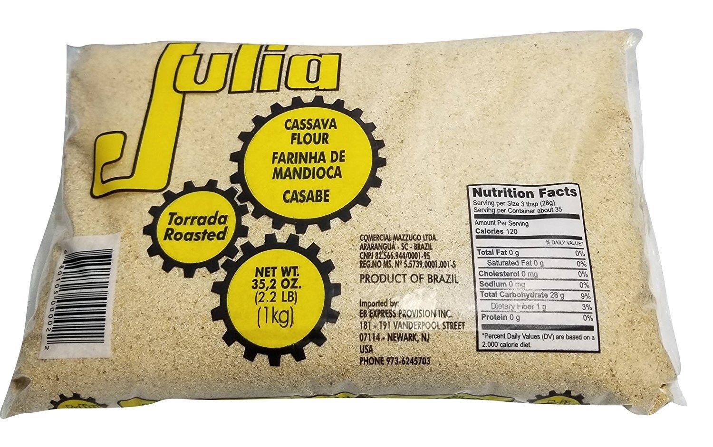 Julia, Toasted Cassava Flour, 35.2 Ounce