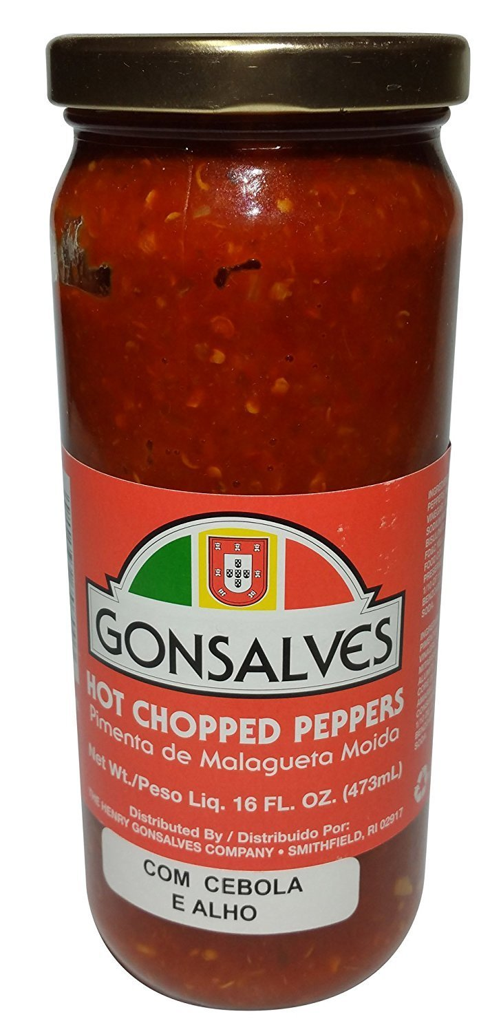 Gonsalves, Crushed Whole Pepper With Union, 16 Ounce