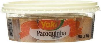 Yoki Paoquinha Sweet Peanut Rolls - 352g