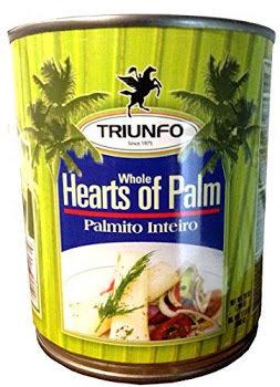 Triunfo Palmito- Whole Hearts of Palm - 794Grams